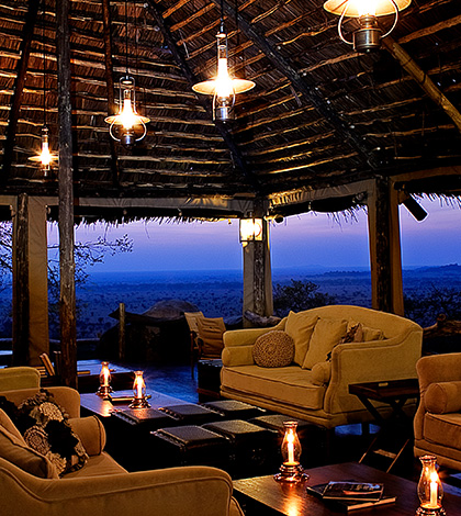 Decoration of Luxury Safari